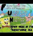 (: 1D meets spongebob <3