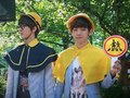 [BTS] 120604 EXO-K Filming Traffic Safety Song - exo-%EC%97%91%EC%86%8C photo