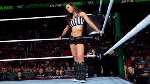 Divas As Referees: AJ Lee
