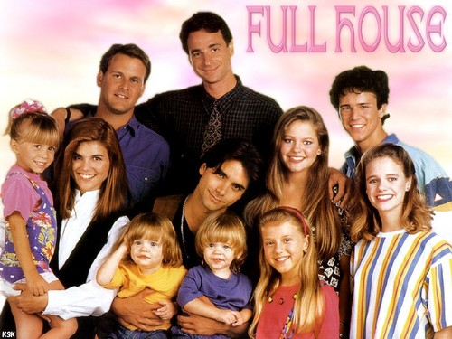 Full House wallpaper probably containing a portrait entitled  Full House