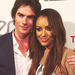 Ian Somerhalder and Kat Graham | 2012 EMA's - damon-and-bonnie icon