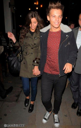 Louis Tomlinson and Eleanor in London, UK 2012