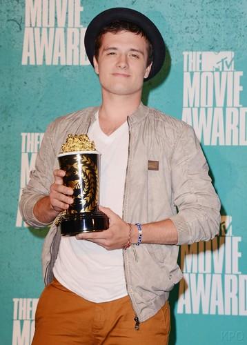 音乐电视 Movie Awards - Press Room [HQ]