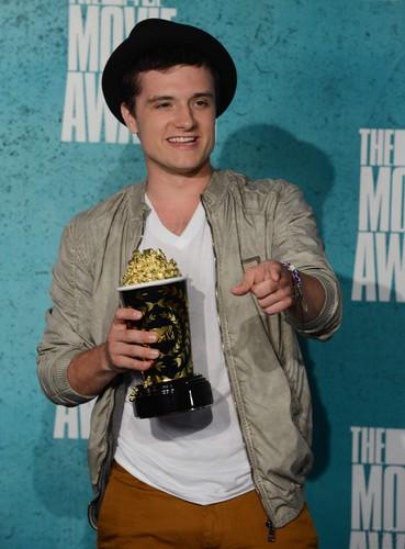 音乐电视 Movie Awards - Press Room