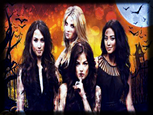 Maonyesho ya Televisheni ya Pretty Little Liars karatasi la kupamba ukuta with anime entitled ★ Pretty Little Liars ☆