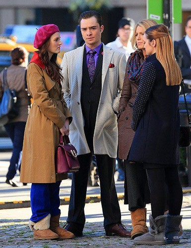 Set photo 01 October - Gossip Girl