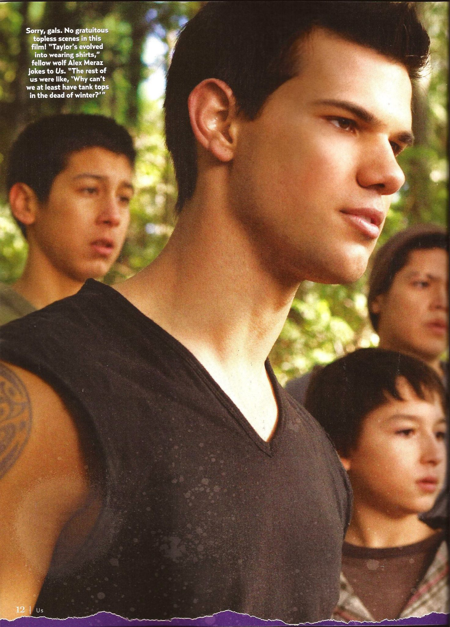 """""""US Weekly"""" scans featuring new stills from Breaking Dawn Part 2."""