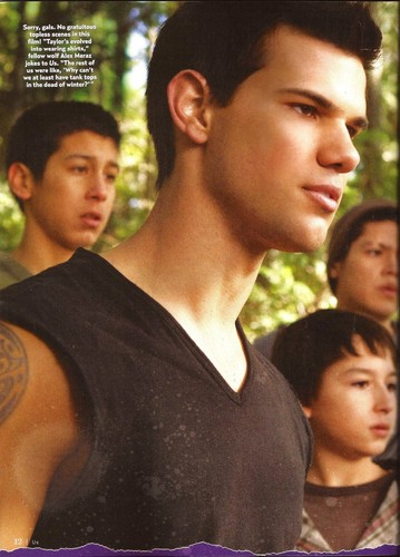 """US Weekly"" scans featuring new stills from Breaking Dawn Part 2."