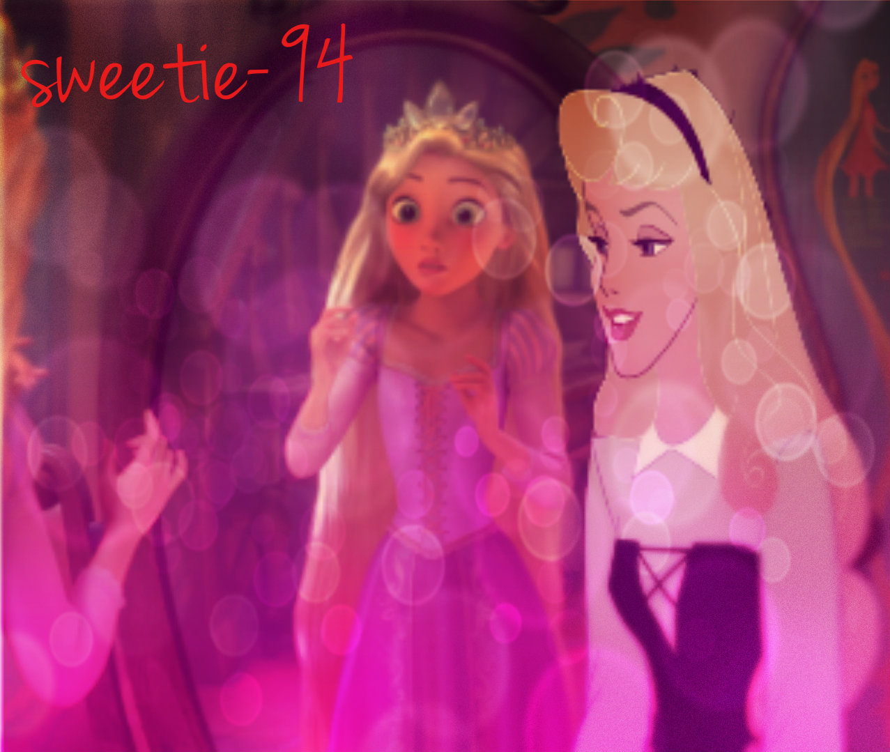 """Why Rapunzel 你 are a princess"""