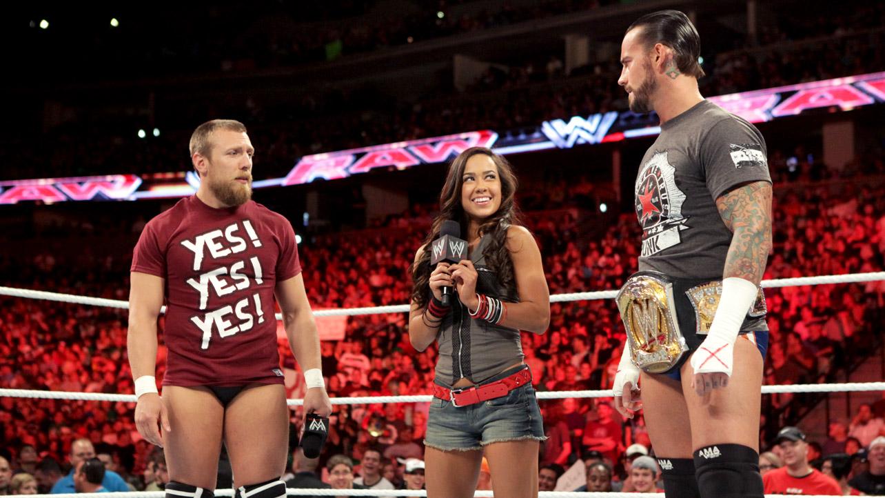 10-Sordid-WWE-Love-Triangles-AJ-Lee-CM-Punk-and-Daniel-Bryan-aj-lee    Wwe Aj Lee And Daniel Bryan