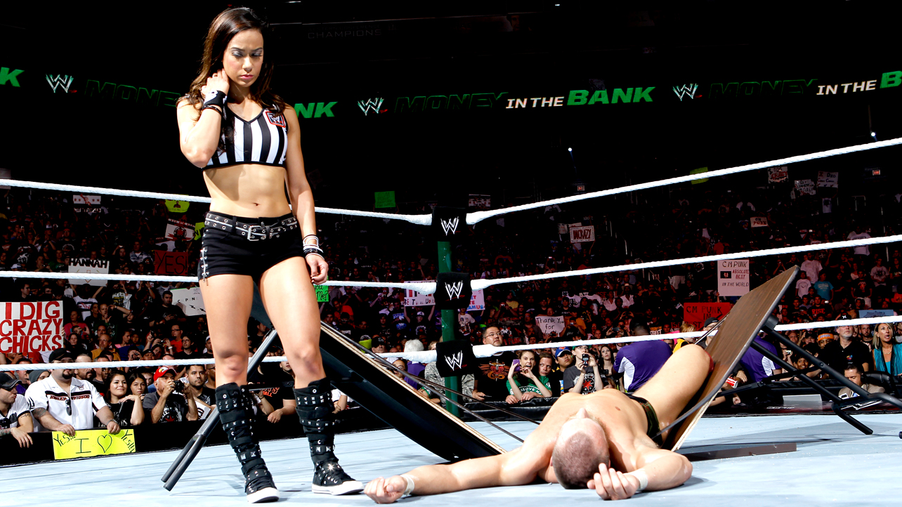 AJ Lee 10 Sordid WWE Love Triangles  AJ Lee CM Punk and Daniel BryanWwe Aj Lee And Daniel Bryan
