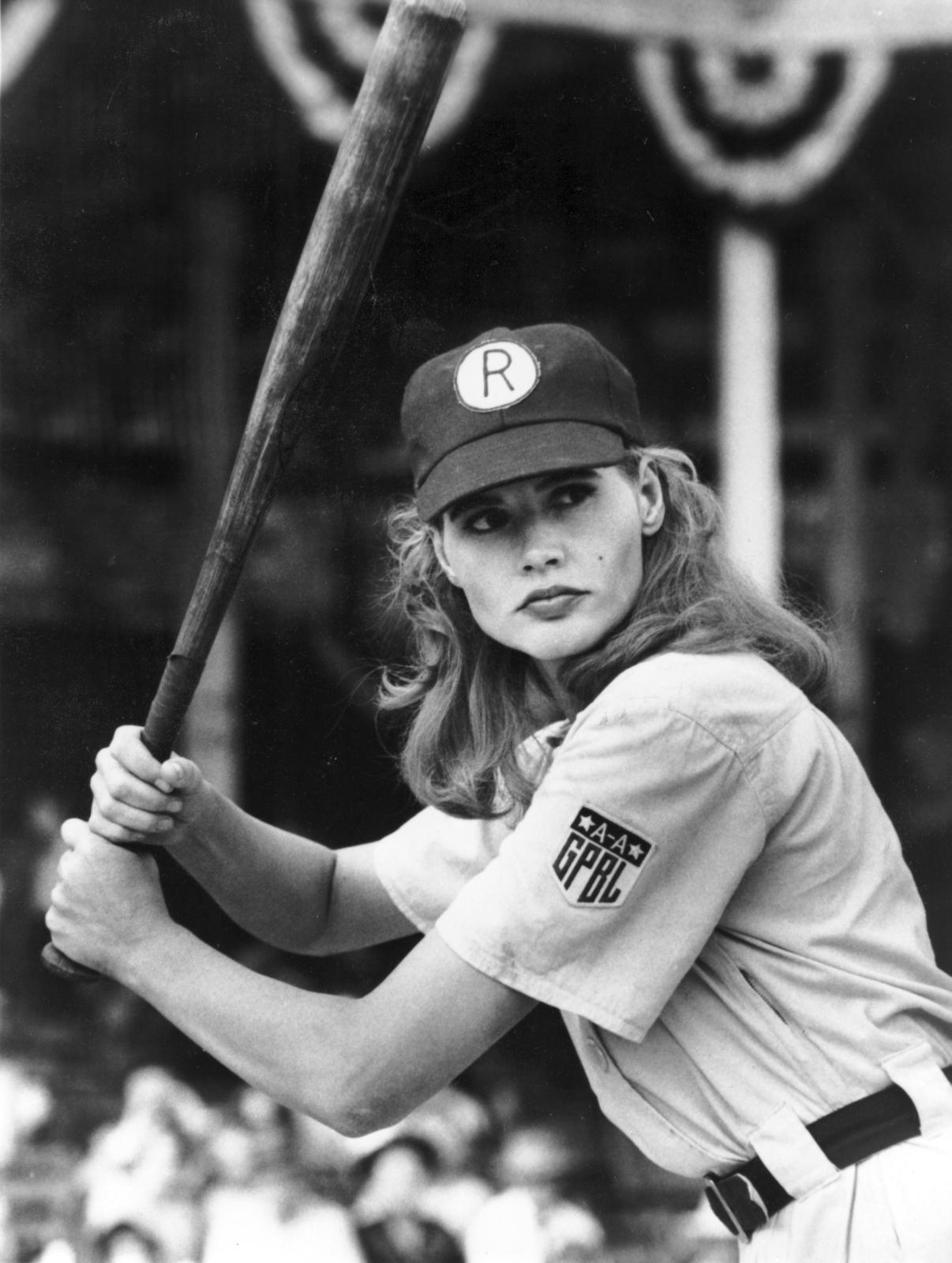 Geena Davis a league of their own