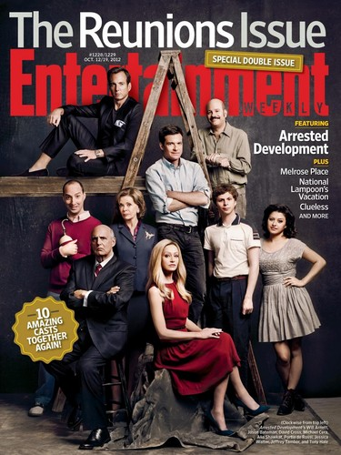 AD Entertainment Weekly Cover - October 12/19, 2012