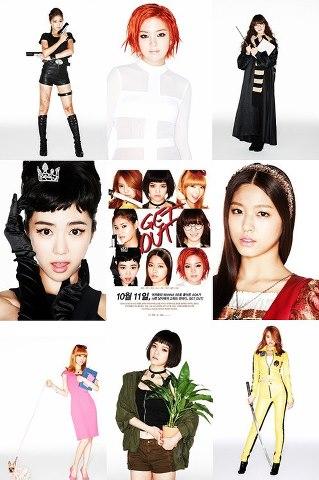 "AOA 2nd Single ""WannaBe"" Get out"