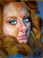 Adele in Soft Pastel - adele fan art