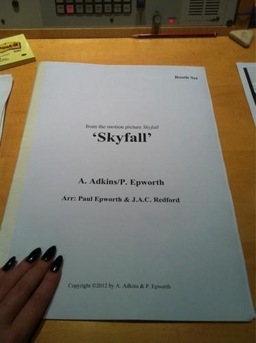 Adele's new James Bond theme, Skyfall