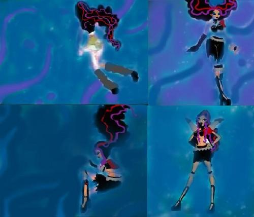 Akira-Gloomix/Magic Zinx Transformation!