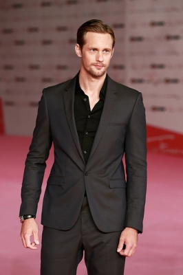 Alexander Skarsgård attends the 2012 Roma Fiction Fest closing ceremony