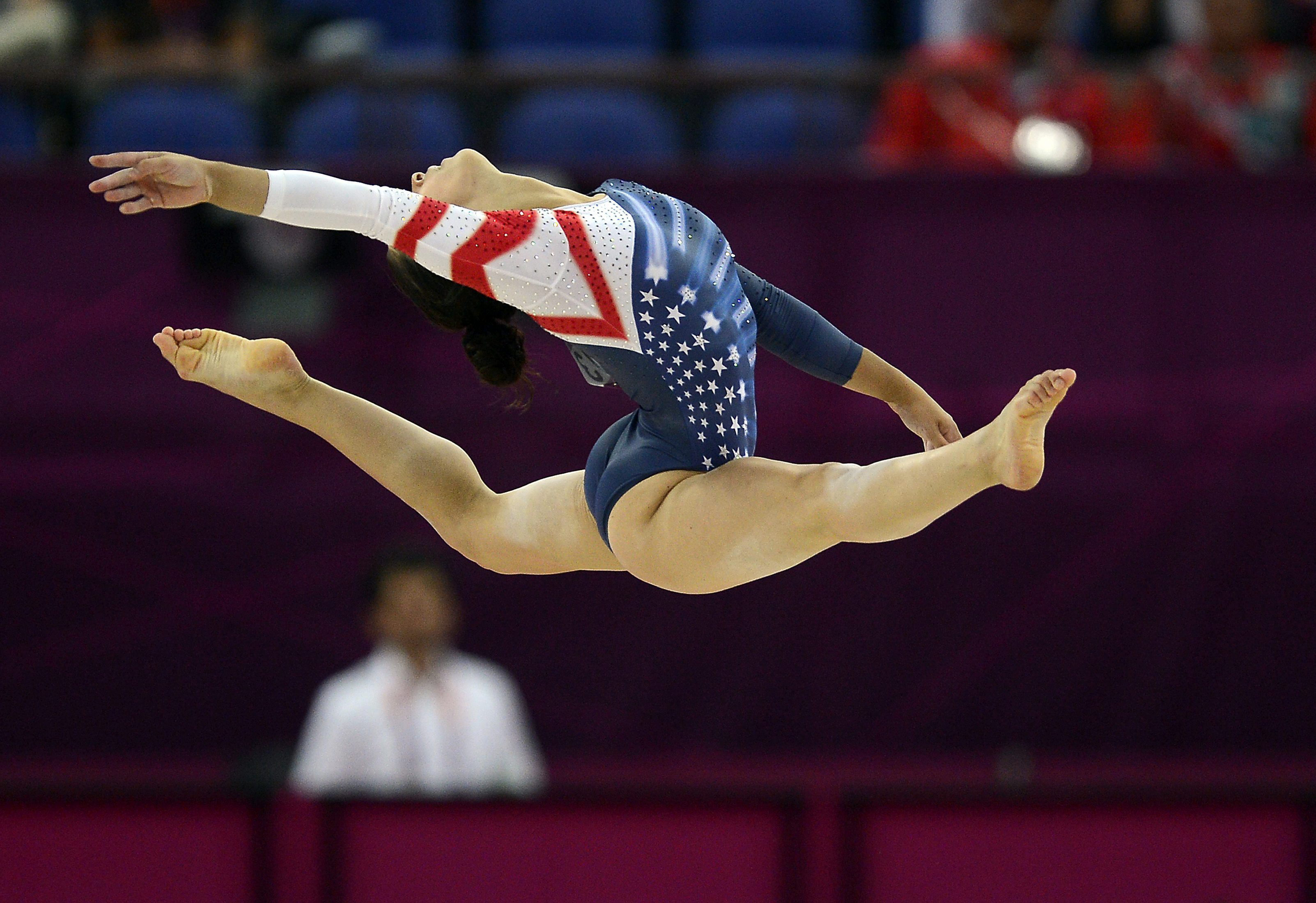 Aly Raisman On Floor Gymnastics