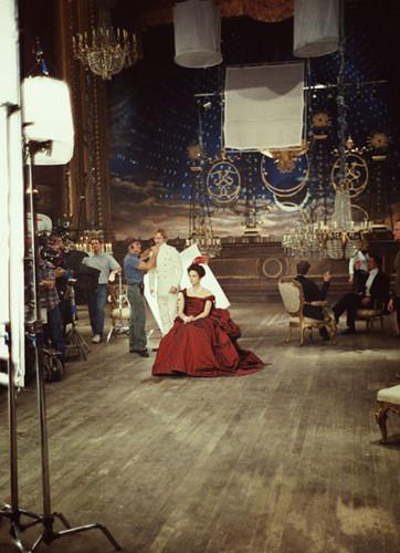 Anna Karenina 2012 on set