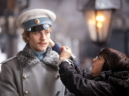 Anna Karenina 2012 on set