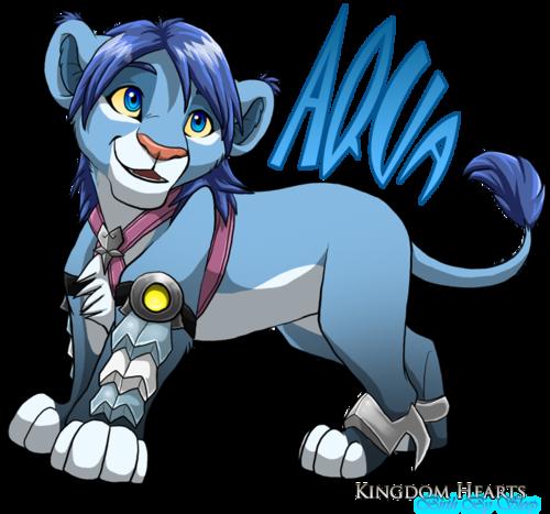 Aqua Lion Cub