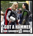 Arguement: Invalid - loki-thor-2011 photo