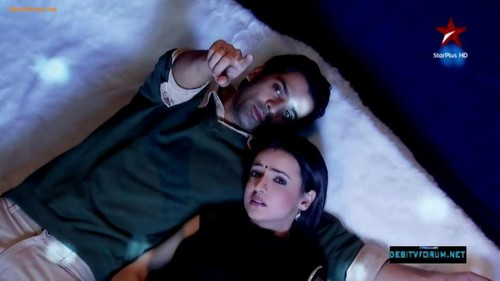 Iss Pyar Ko Kya Naam Doon wallpaper possibly with a neonate titled Arushi- Love night