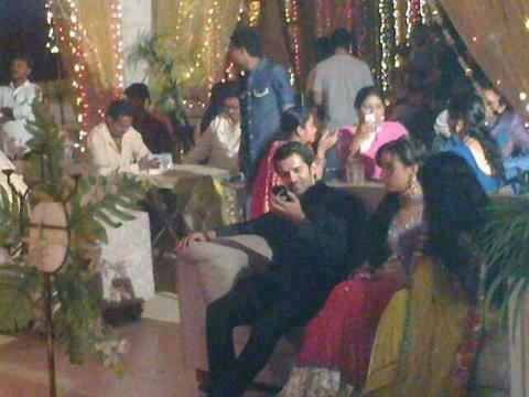 Barun Sobti wallpaper titled Arushi wedding