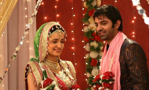 Iss Pyar Ko Kya Naam Doon wallpaper entitled Arushi wedding