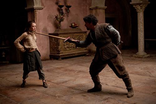Arya Stark & Syrio Forel