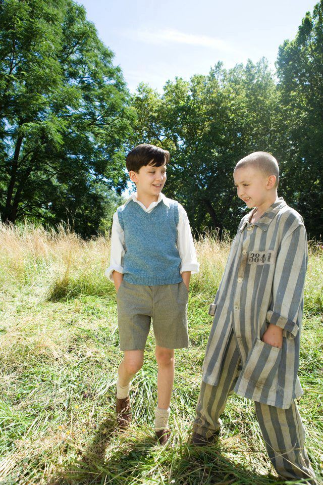 Asa Butterfield and Jack Scanlon