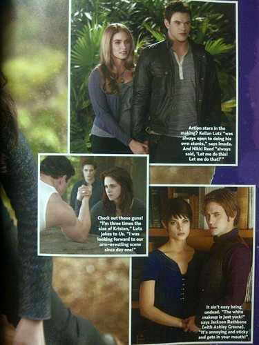 "Ashley as Alice Cullen in ""The Twilight Saga: Breaking Dawn, part 2"" - New image [US Weekly Scan]"