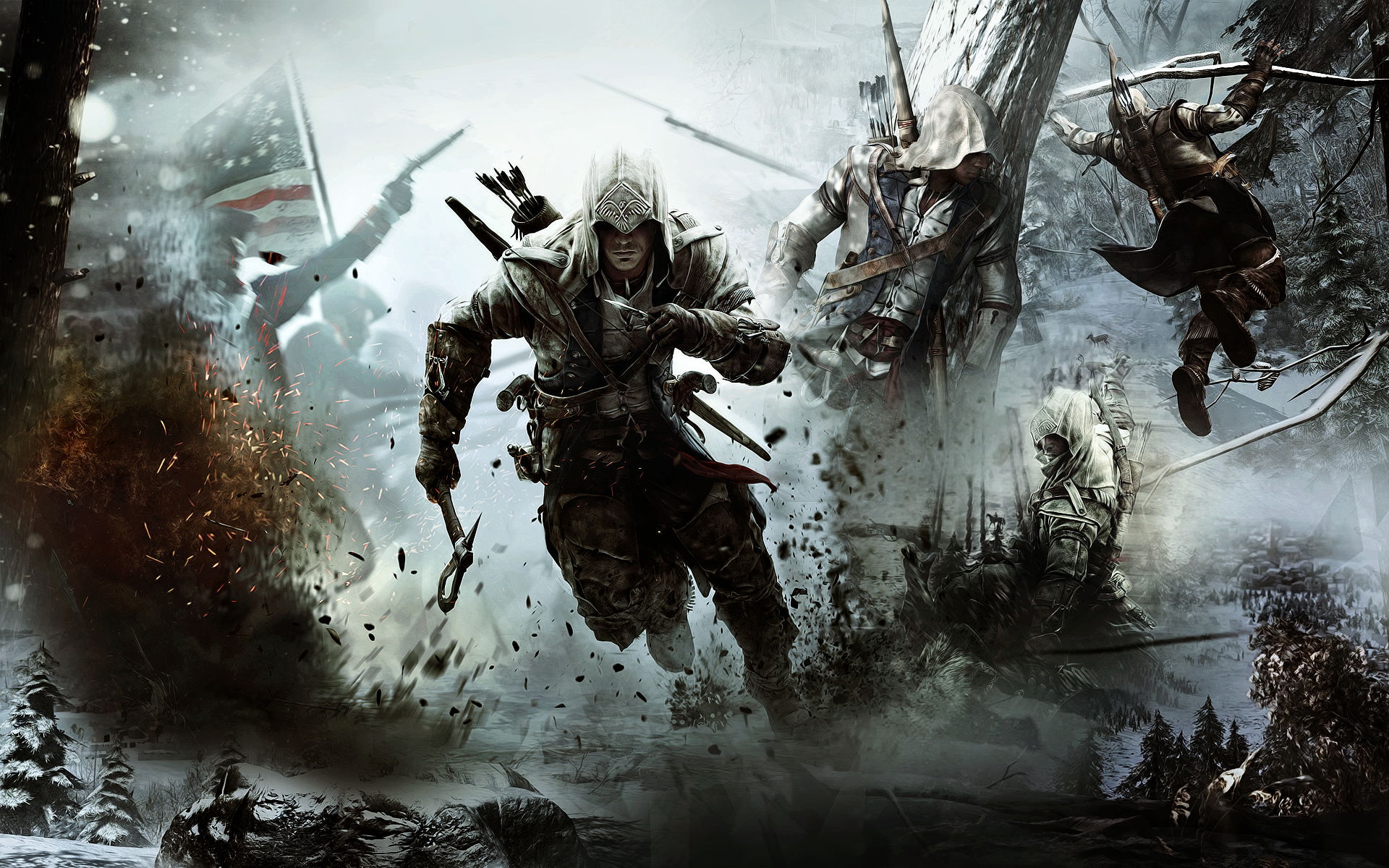 The Assassins Hintergrund Containing Anime Titled Creed III