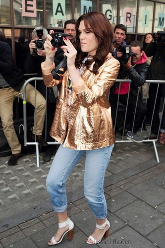 At BBC Radio 1 - September 27, 2012 - jessie-j Photo