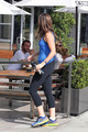 At Coffee Commissary with Austin Nichols after working out - September 25th - sophia-bush photo
