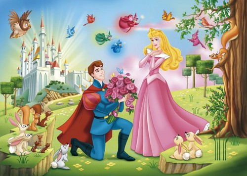 Sleeping Beauty wallpaper called Aurora and Phillip