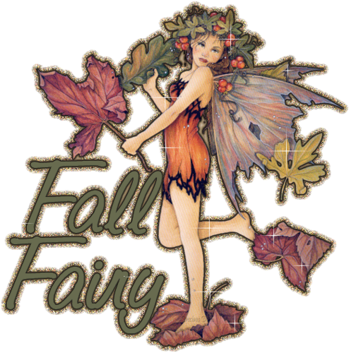 Autumn Fairy for Berni