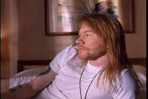 Axl Rose in Since I don't have あなた