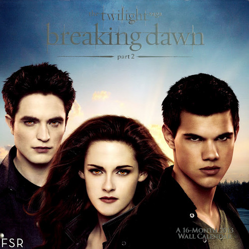 BD 2013 Calendar pic(Bella/Edward/Jacob)