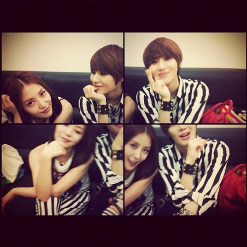 boa and Taemin