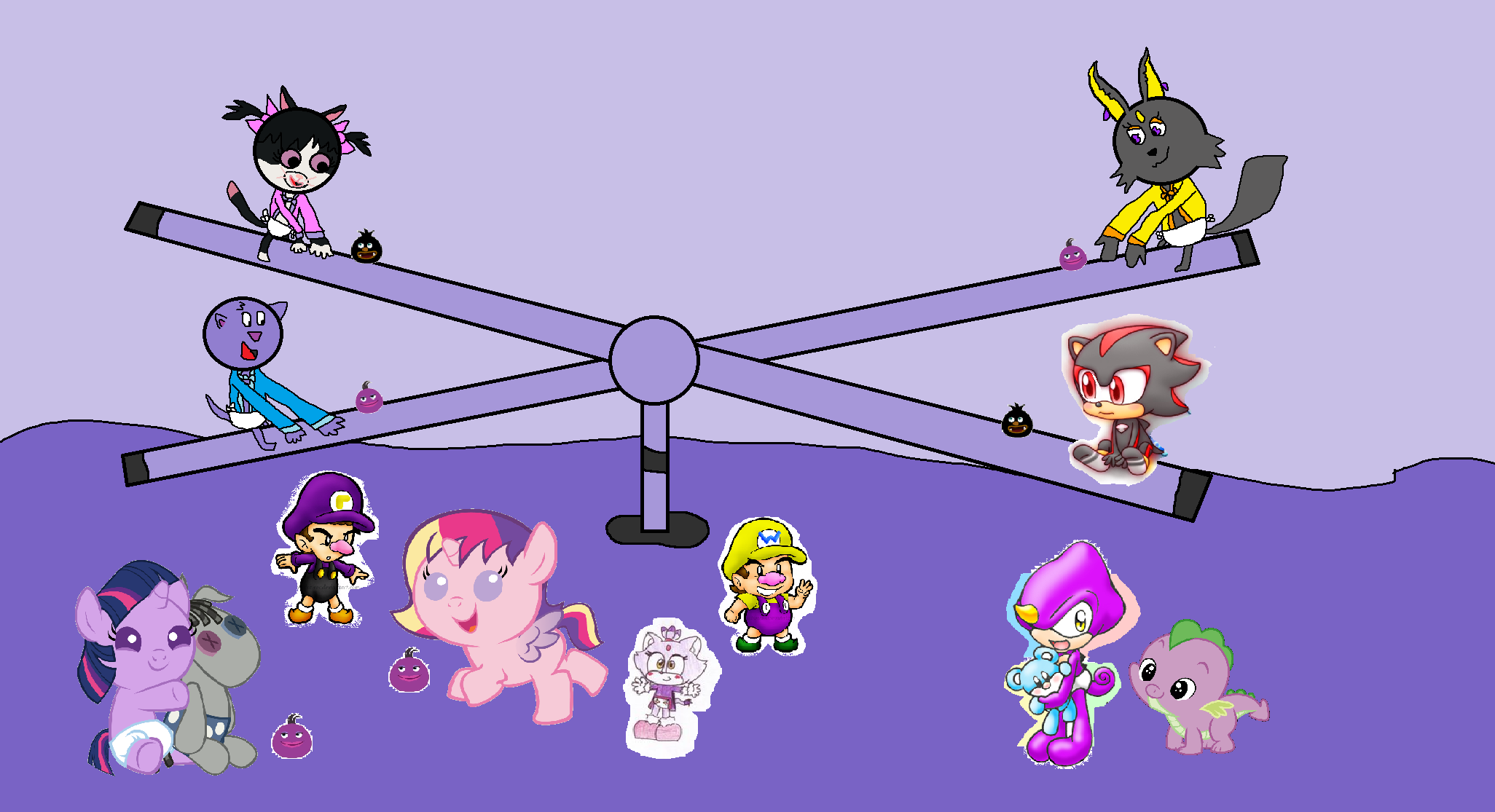 Baby Twilight Sparkle And Cadence The Backyardigans Images Babies