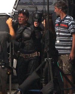 Batman & Catwoman - The Dark Knight Rises BTS