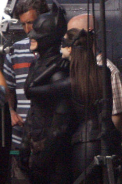 Batman & Catwoman - The Dark Knight Rises BTS