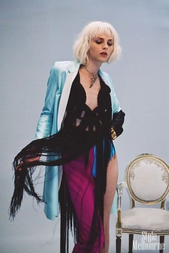 Behind the Scenes: Andrej Pejic for Black Magazine