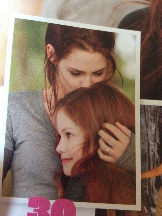 Bella and Renesmee