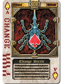 Blade Card 01 - Change Beetle