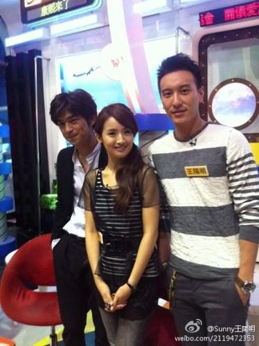 Bo Lin Chen, Ariel lin and Sunny
