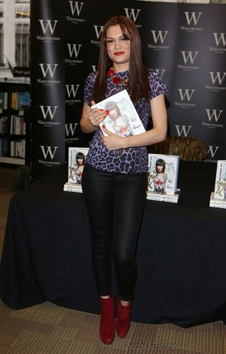 Book Signing Waterstones, Londres - September 27, 2012