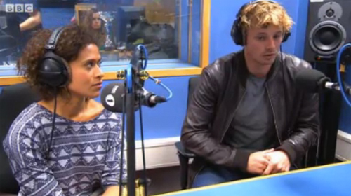 Bradley & 天使 newsbeat interview still